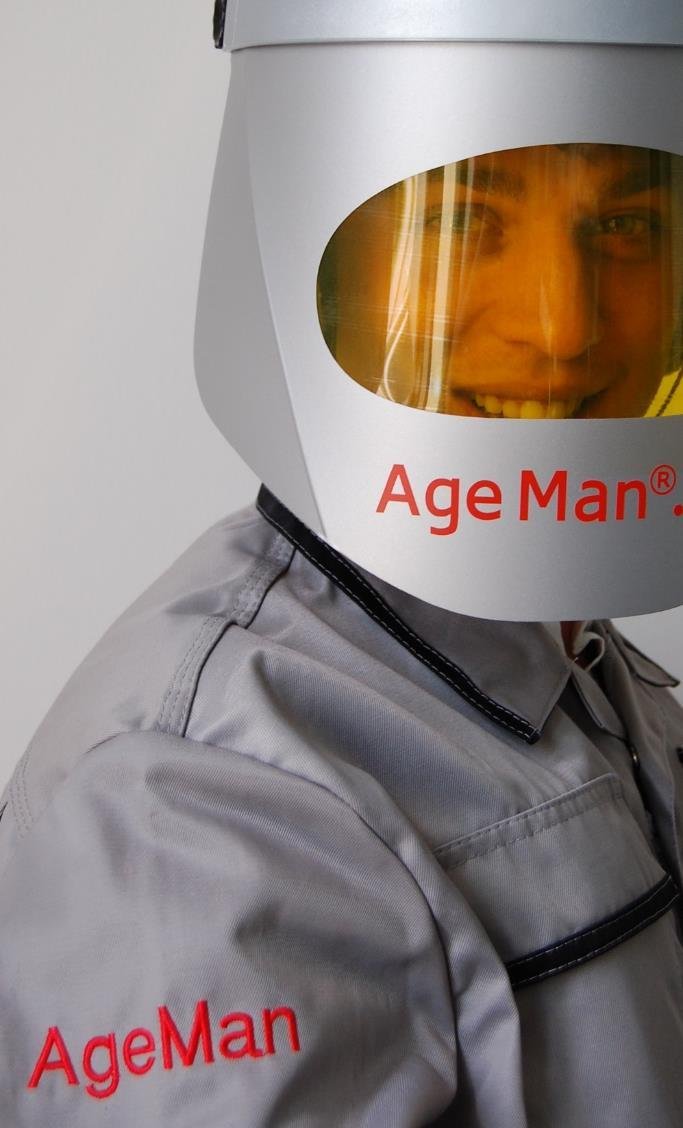 Altersanzug AgeMan